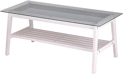 ine Living Table アイネ リビングテーブル ホワイト INT-2405WH