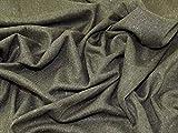 Lady McElroy Tweed-Stoff, olivgrün, Meterware