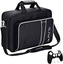 G-STORY Case Storage Bag for PS5, Console Carrying Case Compatible Playstation 5 and PS5 Digital Edition, Travel PS5 Bag f...