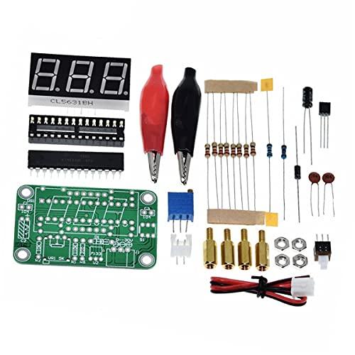 HiLetgo VOT-8 Voltmeter Kit Voltage Meter Electronic Production Suite DIY Kit for Student Electronic Exercise