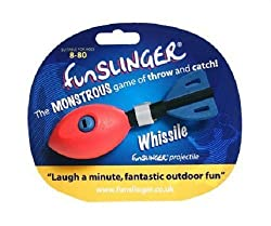 WARNING: FUNSLINGER is highly addictive, play responsibly! Replacement Whissile for Funslinger FUNSLINGER is great for the garden, park, sports field and the beach. Amazing fun for all ages As seen on Dragons Den