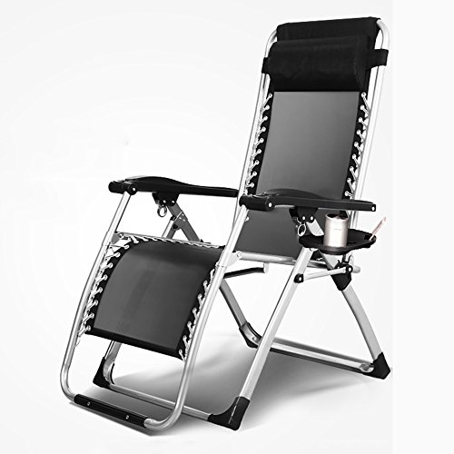 Chaises longues-Chaises longues-- Fauteuils pliants Lazy Sofa Bureau Nap chaise femmes enceintes Accueil Lit bébé lit Lazy Sofa (une variété de couleurs en option) --Applicable à l'intérieur et à l'extérieur ( Couleur : #1 )