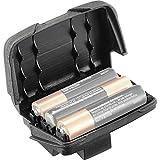 PETZL Soporte para batería REACTIK + -Unidad(es), Unisex Adulto, Black, Small