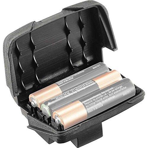 PETZL PT-E923002 Soporte para batería REACTIK + -Unidad(es), Unisex Adulto, Black, Small