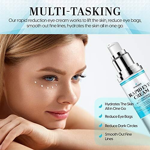 513L2vx4XQL. SL500  - Anti-Aging Cream, Rapid Eye Cream - Anti Wrinkle Treatment, Rapid Reduction Eye Cream, Instantly Reduces Puffiness, Eye Bags in 2 Minutes! -30 ml