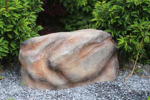 Arnusa Abdeckstein 93x45 cm Gartenfelsen Tafohaus Dekostein Trafostein