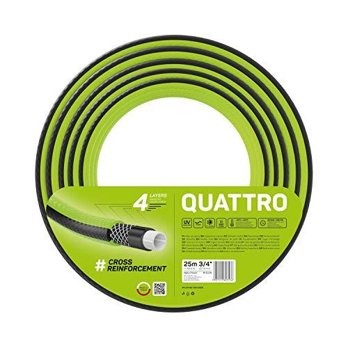 Preisvergleich Produktbild Cellfast Quattro Gartenschlauch Vier Verschiedene Längen,  UV-beständig,  3 / 4 Zoll (25m)