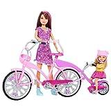 Barbie Sisters Tandem Bike and Dolls Playset
