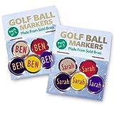 Best Impressions - Etiquetas personalizables para marcar pelotas de golf