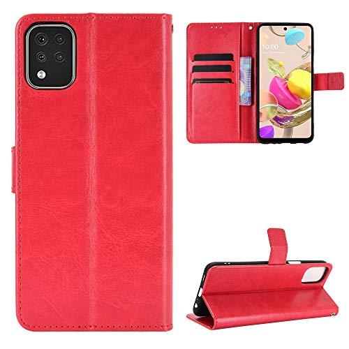 Price comparison product image Hülle® Wallet Flip Case Compatible for LG K42(Pattern 2)