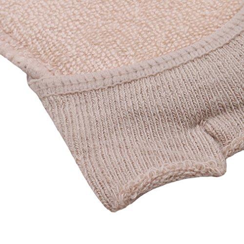 L shop Baumwolle Hälfte Einlegesohlen Pads Kissen Metatarsal W&e Vorderfuß Unterstützung Fuß Socken für Heels Frauen rutschfeste Foot Care Werkzeug 9 * 8cm Nude
