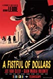 A Fistful Of Dollars - Clint Eastwood Movie Poster