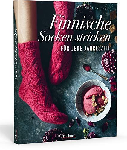 Finnische Socken stricken für jede Jahreszeit.. Von dünnen Strümpfen bis Wintersocken: Sockenmode im skandinavischen Design. Kreative Strickmuster für Strickanfänger und Fortgeschrittene.