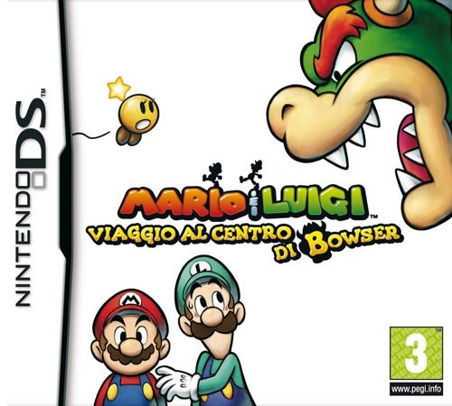 NDS Mario & Luigi: Bowser's Inside Story