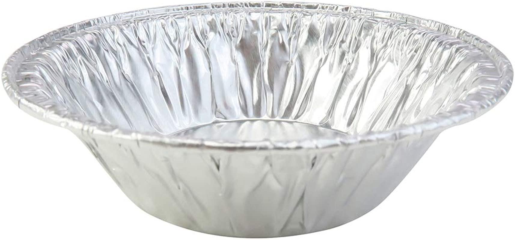 Disposable Aluminum 3 Tart Pans Individual Pie Pans 301 100