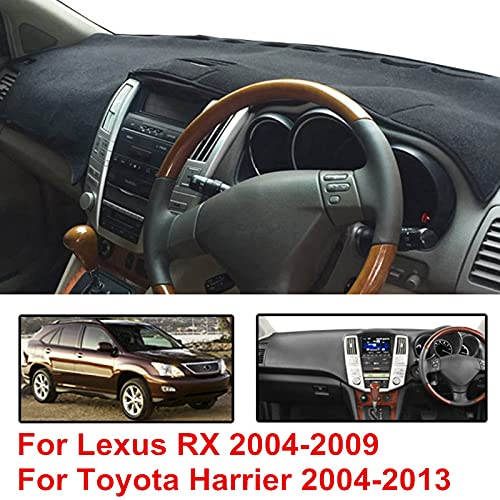 JIERS for Lexus RX RX300 RX330 RX350 2004-2009, for Toyota Harrier 2004-2013, Car Dashmat Dashboard Mat Sun Shade Cover Pad Instrument Carpet