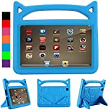2019/2017 F ire HD 8 Kids Case(Not suitable for release in 2020),Kids Shockproof Light Weight Protective Stand Cover Case for Fire HD 8' Display Tablet (Fire HD8 Case, Blue)