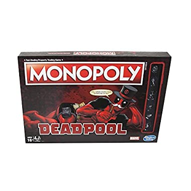 Hasbro Monopoly Game: Marvel Deadpool Edition