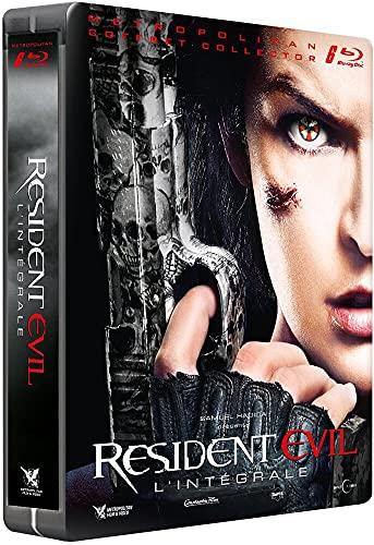 L'intégrale Apocalypse Extinction Afterlife Retribution + Resident Evil - Chapitre Final [Édition Limitée boîtier SteelBook]