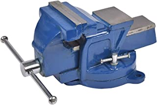 Cogex 64015 - Tornillo de banco con base giratoria (fundici