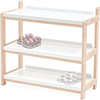 ZXJshyp Storage Bench, Shoe Bench with Seat and Metal Shelf, Multifunctional Seat Chest, Hallway Living Room, Sturdy Metal...