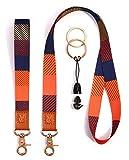 Lanyards Key Chain Holder Wrist Lanyard Badge Holder Lanyard Keychain Neck Straps Lanyard Premium Quality Wristlet Strap Cool Neck Lanyard (Check)
