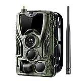 TOOGOO Hc-801M CáMara de Rastro de Caza 2G SMS/MMS/Smtp Wild CáMara 0.3S Disparar Trampas de Fotos para Animal 16Mp HD CáMara Scout de VersióN Nocturna