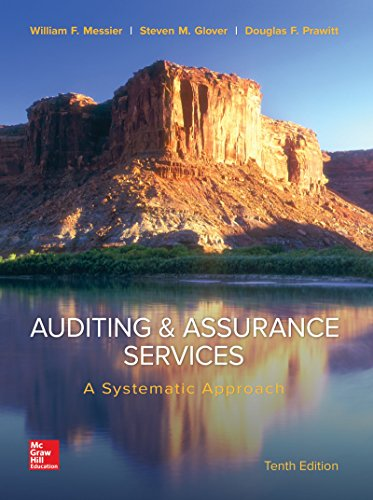 Compare Textbook Prices for Auditing & Assurance Services: A Systematic Approach: A Systematic Approach Irwin Accounting 10 Edition ISBN 0884709985451 by Messier Jr, William,Glover, Steven,Prawitt, Douglas