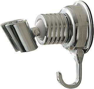 yiyida universal Alcachofa Soporte Aspiradora regulable Cromado duschh Projector con ganchos para alcachofa o ducha para cuarto de baño