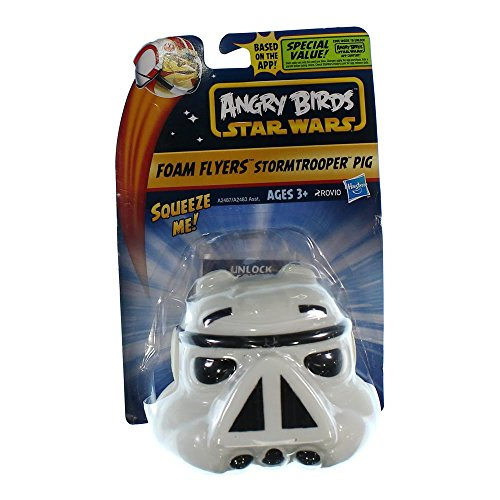 Angry Birds Star Wars Foam Flyers Stormtrooper Pig Flyer