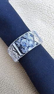 "Plastic Napkin Holder Ring, Clear 2"", Pack of 24"