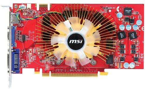 MSI nVidia GeForce 9800GT Grafikkarte (PCI-e, 512MB GDDR5 Speicher, DVI, 1 GPU) Full Retail