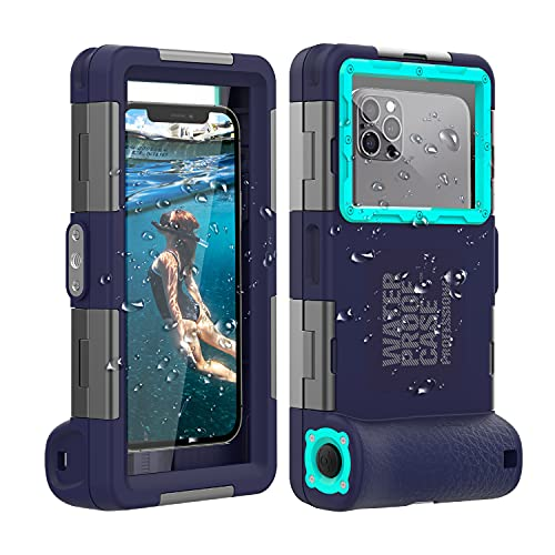 (2nd Gen) Universal Phone Waterproof Case for Most of Samsung Galaxy and iPhone Series, 50ft...