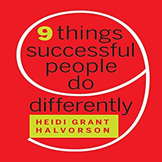 Nine Things Successful People Do Differently audiobook cover art
