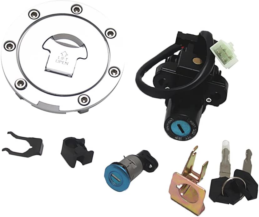 D DOLITY Quality inspection Ignition Max 60% OFF Switch Fuel Gas Cap Lock Seat for Key Set CBR1