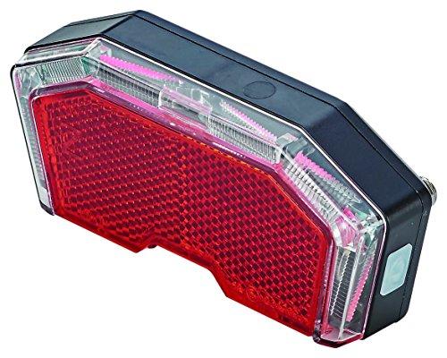 Prophete batería Trasera, Montaje en portaequipajes, Montaje Alcance 50/80mm, Incluye Pilas luz LED Trasera, Negro, L