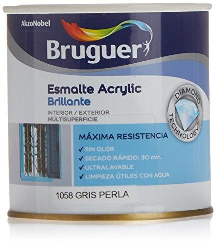 Bruguer–Smalto Acrilico Grigio Perla Bruguer 250ml