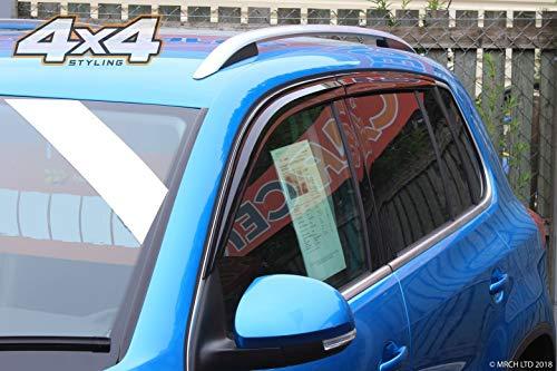 Autoclover Windabweiser-Set für Tiguan, 6-teilig