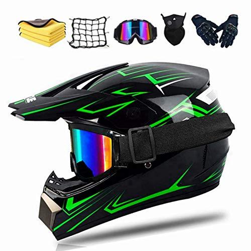 Casco infantil de moto, casco de motocross, Enduro, casco integral para MTB,...