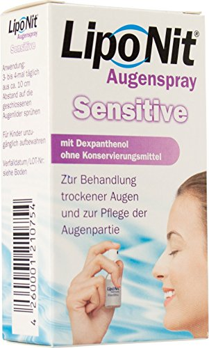 Liponit Augenspray Sensitive, 1er Pack (1 x 10 ml)