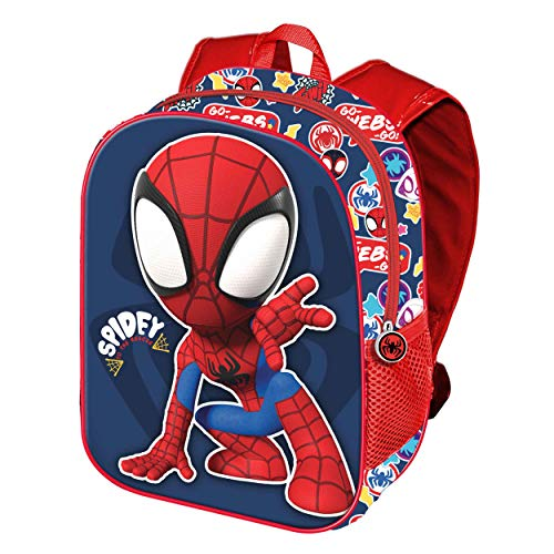 Spiderman Rescue-Mochila 3D (Pequeña)