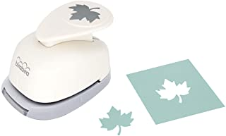 Bira Craft 1 اینچ اهرم افرا Leaf Left Action Craft Punch for Paper Crafting Scrapbooking