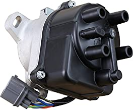 AIP Electronics Heavy Duty Stock Series Complete Electronic Ignition Distributor Compatible Replacement For 1996-2001 Acura Integra 1.8L Non-VTEC TD-85U 30100-P75-A03 OBD2A/B Oem Fit DTD85-SS