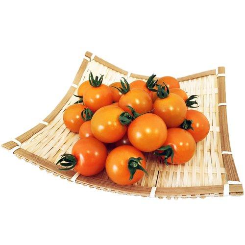 国産新鮮野菜 ミニトマト・オレンジ千果 業務用バラ 2kg 水耕栽培