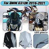 XX eCommerce Motocicleta Moto Plástico Nueva generación Deporte Carreras Parabrisas Parabrisas para 2016-2018 B-M-W G310R G 310 R 2017 16-18