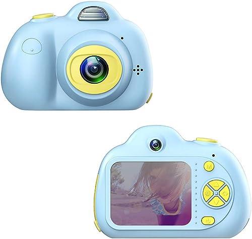 comprar ahora JLRSC JLRSC JLRSC Cámara Digital HD para Niños Doble Lente para Flash, 8 megapíxeles, 2 LCD, cámara de Video Digital Recargable, cámara para Niños Tarjeta de Memoria 16G (Tarjeta de Memoria 1x16G)  venta con descuento