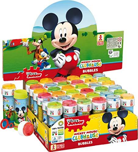 """Lote de 20 Divertidos Pomperos de Jabón Infanrtiles""""Mickey Mouse Disney"""". Regalos y Recuerdos Originales. Juegos y Juguetes. Detalles de Bodas, Comuniones, Bautizos y Eventos."""