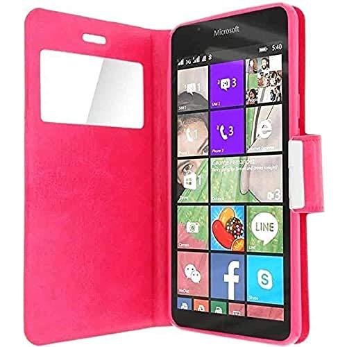 iPOMCASE Coque pour Nokia Microsoft Lumia 640 XL, Rose