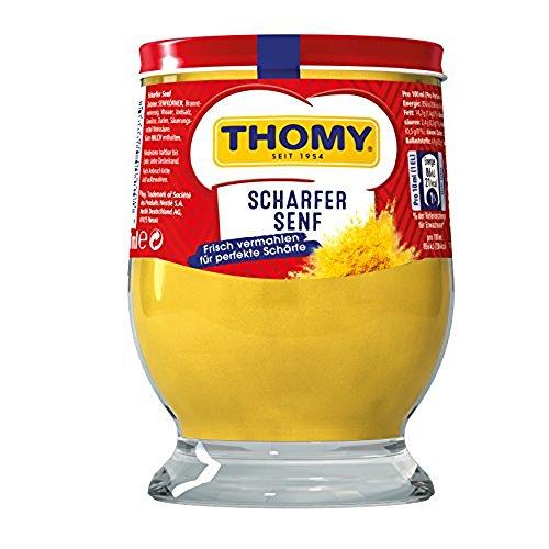 Thomy Scharfer Senf, 1 x 250ml