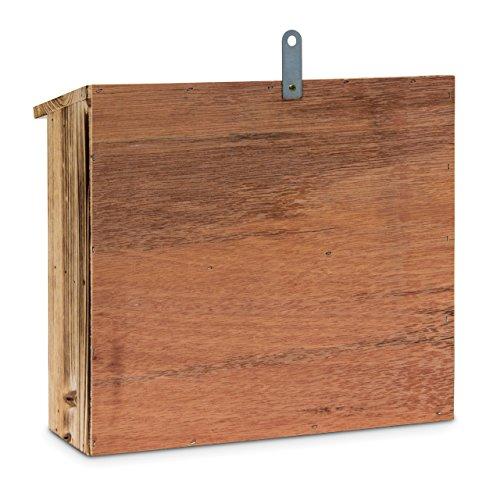 Nisthilfe aus gebranntem Holz - 3
